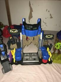 Imaginext batman robot headquarters