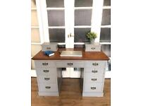 Antique Desk Free Delivery Ldn Shabby Chic bureau/Chest of drawers