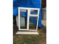 **UPVC**DOUBLE GLAZED WINDOW**CLEAR**£70**NO OFFERS**2 OPENINGS**GOOD CONDITION**MORE AVAILABLE**