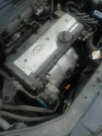 Hyundai getz 2008 1.4 engine