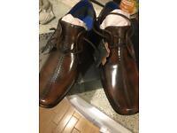 Brand New Firetrap Brown Shoes