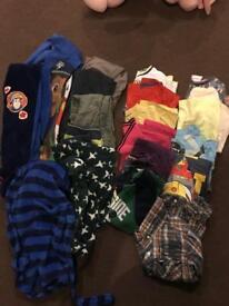 Boys clothing bundle 4-5yrs