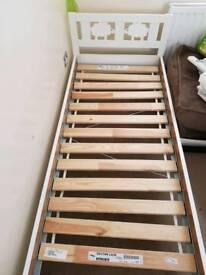 Two single children's beds