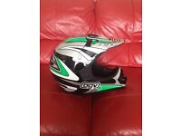 AGV motor cross helmet