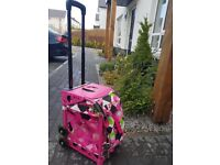 Zuca Bag with flashing wheels