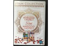 The Best Exotic Marigold Hotel 1&2 DVDs