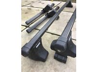 Thule car roof bars