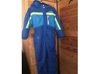 Blue boys snow/ski suit