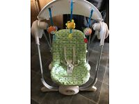 Chicco swing chair