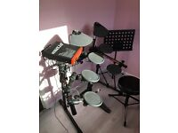 Yamaha DTxpress electronic drum kit.