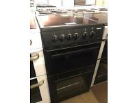 BEKO BLACK COOKER 50 CM WIDE WITH GUARANTEE 🇬🇧🇬🇧🌎🌎