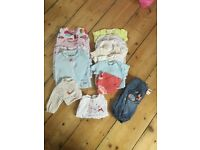 Girls Baby Bundle 0-3