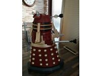 Highly collectable 18 inch remote controlled Supreme Dalek for sale