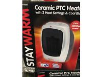1500w Ceramic Electric Heater Brand New Boxed