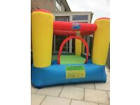 bouncy castle with air blower