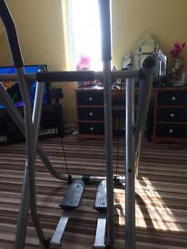 Air walker exerciser