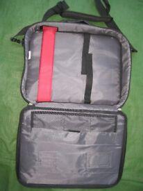 Black Fabric Belkin Laptop Case