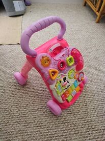 V-tech baby walker and activity centre