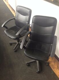TWO OFFICE CHAIRS FOR SALE