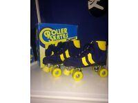 Blazer Skates (Blue and Yellow) UK 6