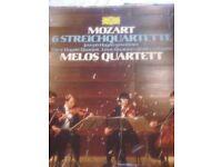 Excellent condition mozart 6 streichquartette melos quartett