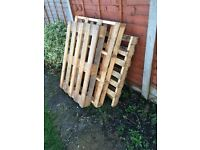 One wooden pallet (free)