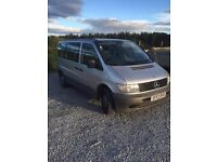 for sale this Mercedes traveliner 2151 minibus 8 seater vito 110 cdi