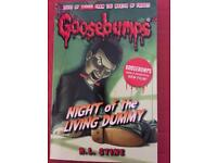 Night of the living dummy goosebumps book