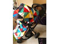 Cosatto travel system fully working with all accessories