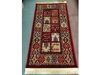 Egyptian style red rug