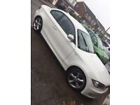 Selling my lovely bmw 1 series coupe in white