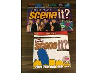 """The Simpsons and Friends """"Scene It?"""" Games"""