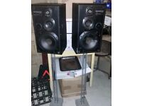 Pair of Speakers with stands