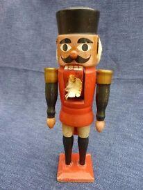 Vintage (antique?) wooden Nutcracker