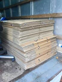 Cardboard double wall removal removal boxes