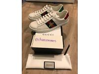 Gucci Ace Bee Embroidery fashion Sneaker