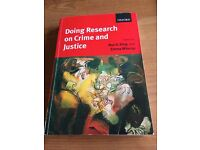 Doing Research On Crime and Justice - Roy King and Emma Wincup