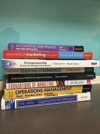 First year business books. NTU.