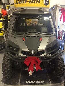 2015 Can-Am Commander XT™ 1000 - Brushed Aluminum- Full Cab Syst
