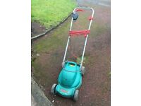 Bosch Rotax 320c electric push lawnmower