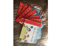 Complete set - A to Z - kids 'My first steps to reading' books