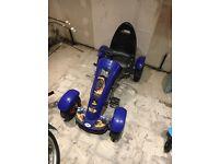 Child pedal go kart