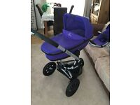 Quinny buzz xtra with extras in purple