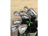 Mizuno golf clubs and bag