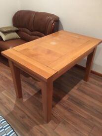 Pine Wooden Dinner Table (4-6)