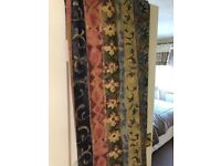 Curtains 90 x 90 two pairs