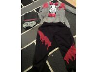 Boys Halloween Outfit Size 3-4 Yrs