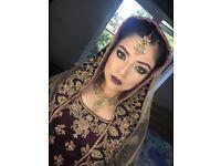 Freelance professional bridal makeup artist