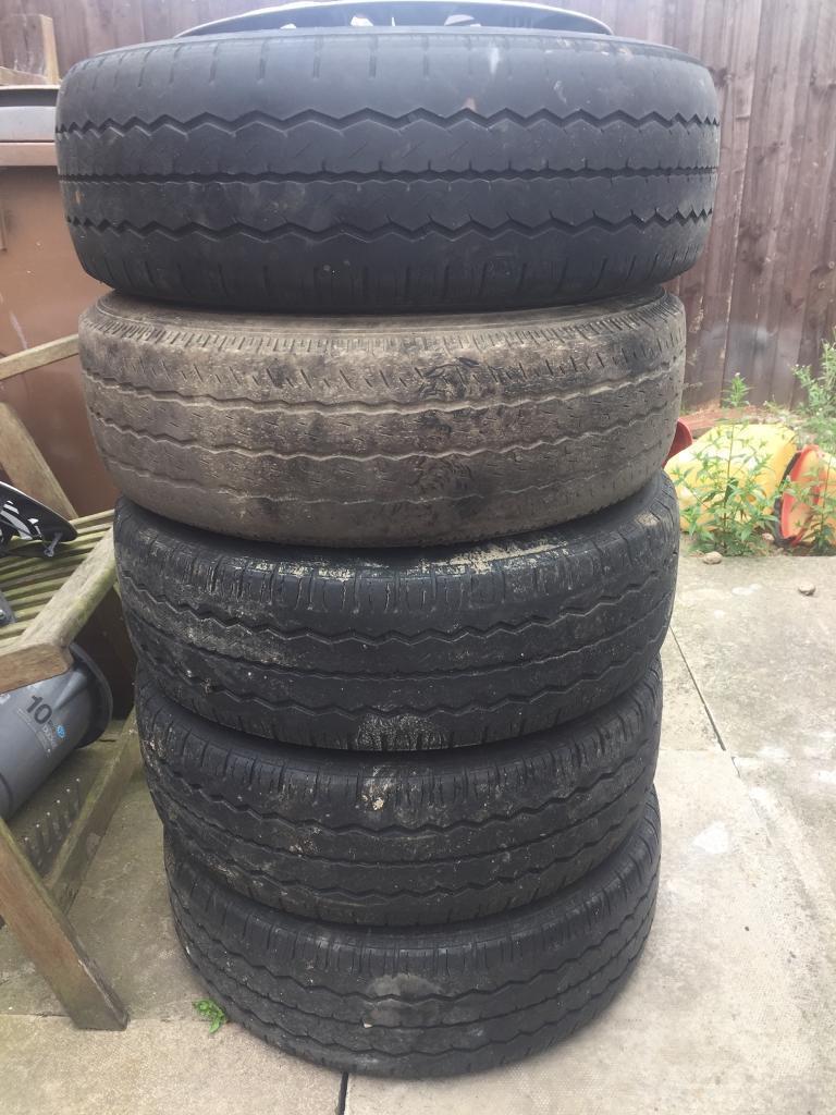 Vauxhall vivaro steel wheels