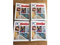 PC Know How magazine volumes 1-4